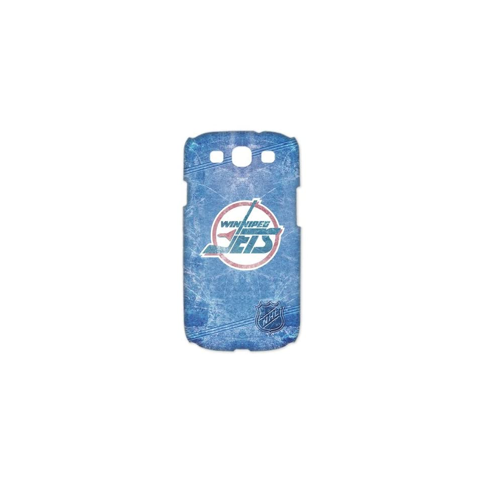 Casesspecial Ice hockey series NHL Winnipeg Jets Team Logo handmade 3D case for Samsung Galaxy S3 I9300/I9308/I939