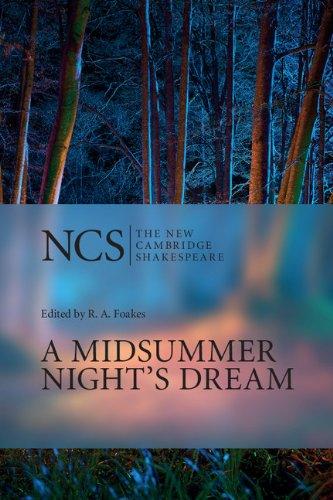 William Shakespeare - A Midsummer Night's Dream (The New Cambridge Shakespeare)