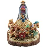 Enesco Disney Traditions by Jim Shore Wood Carved Snow White Figurine, 8-1/2-Inch