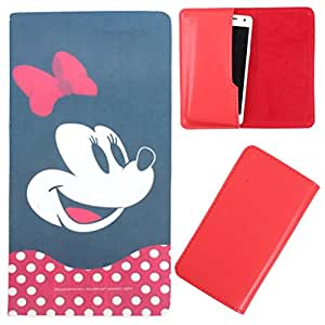 DooDa - For Micromax Canvas Juice 3+ PU Leather Designer Fashionable Fancy Case Cover Pouch With Smooth Inner Velvet