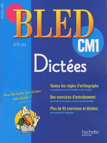 Dictées CM1 (French Edition)