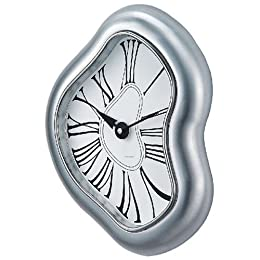 Distorted Oversized Contemporary Wall Clock : Target