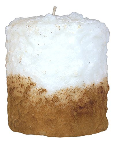Warm Glow Candle Company 5'' Hand Dipped Sweet Dessert Hearth Candle (Cinnamon Fried Ice Cream) (Fried Ice Cream Candle compare prices)