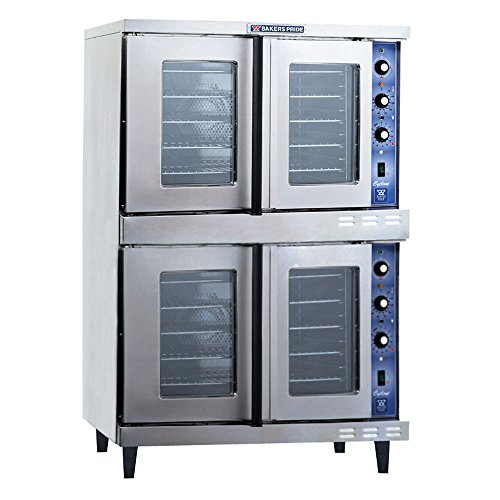 Natural Gas Bakers Pride Gdco-G2 Cyclone Series Gas Convection Oven Double Deck - 120,000 Btu