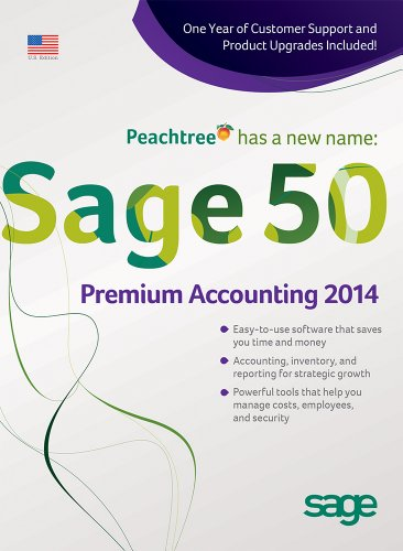 Sage 50 Premium Accounting 2014 US Edition 3-User