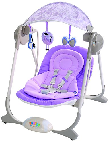 Chicco 67691 polly swing altalena per neonati lilla for Altalena chicco medium swing