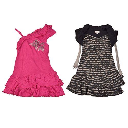 Bio Kid Baby Girls Cotton Multicolor Dress