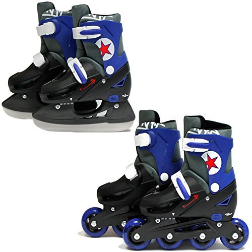 sk8-zone-boys-blue-2in1-roller-blades-inline-skates-adjustable-size-childrens-kids-pro-combo-multi-i