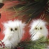 RAZ Imports - Fluffy White Owls 5.5