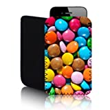 Biz-E-Bee Exclusive 'Smarties Chocolate' SAMSUNG GALAXY Y S6120 (S) Shock And Water Resistant Neoprene Mobile Phone Case, Cover, Pouch