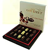Chocolate Covered Dates ? Gourmet Milk, White, & Dark Chocolate Medjool Stuffed With Premium Roasted Almonds ?...