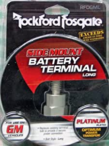Amazon.com: Rockford Fosgate RFDGML GM Battery Post