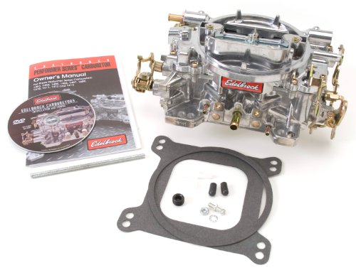 Edelbrock 1407 Performer 750 CFM Square Bore 4-Barrel Air Valve Secondary Manual Choke New Carburetor (Edelbrock 1407 Carburetor compare prices)
