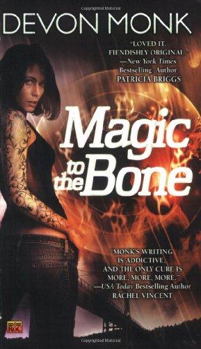 Image of Magic to the Bone (Allie Beckstrom, Book 1)