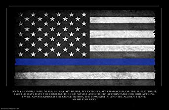 law enforcement american flag - photo #5