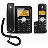 Motorola DECT 6.0 Enhanced Corded Base Phone with Cordless Handset and Digital Answering System L402C ~ Motorola