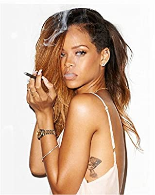 Rihanna 8x10 Photo - The Photo is Color Corrected and it is made to fit 8x10 photograph without any black or white borders. What you see is what you get. #1656