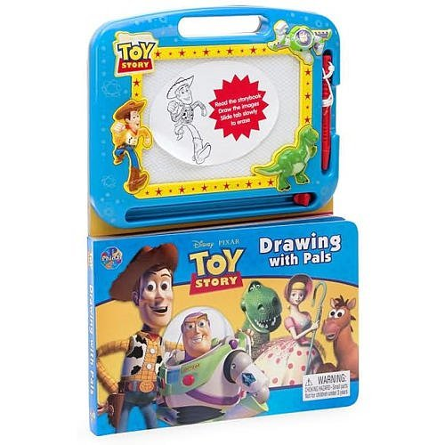 Disney Pixar Toy Story Drawing with Pals Board Book - 1