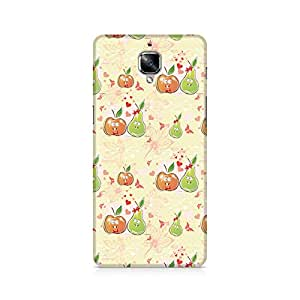 Ebby Apple and Pear Premium Printed Case For OnePlus Three