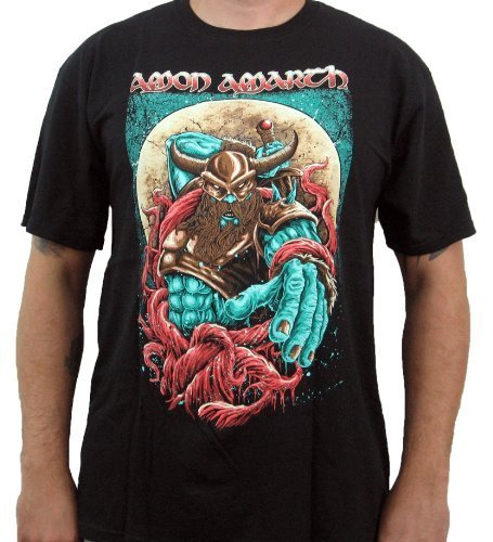 Hardcore Apparel Uomo Amon Amarth Spartan T-Shirt Nero-X-Large