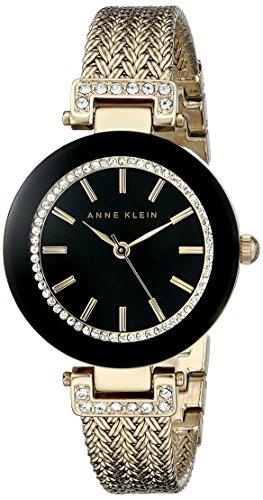 anne-klein-womens-ak-1906bkgb-swarovski-crystal-accented-watch-with-gold-tone-mesh-bracelet