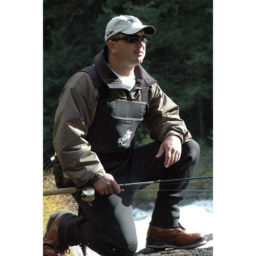 Caddis Wading Systems Caddis Men's Green Neoprene Stocking Foot Wader, X-Large