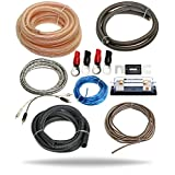 InstallGear 4 Gauge Amp Kit Ga Awg Amplifier Installation Wiring True Spec and Soft Touch Wire