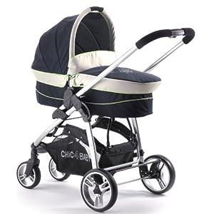 Chic 4 Baby 21159 - Kombi-Kinderwagen 2-in-1 Filou, navy