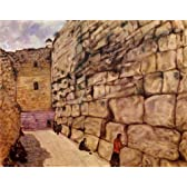 シャガール・「嘆きの壁」 プリキャンバス複製画・ ギャラリーラップ仕上げ(6号サイズ)