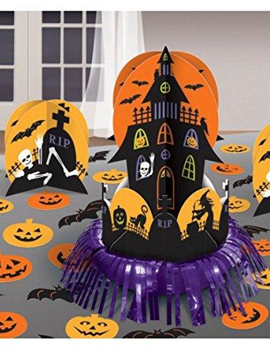 Tischdekoration-Set Halloween Spukschloß, 27-teilig