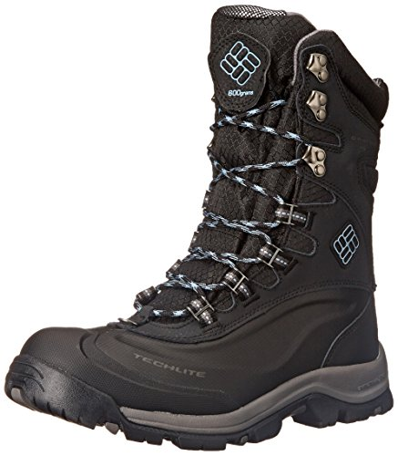 Columbia Women's Bugaboot Plus III XTM OH Winter Boot, Black/Dark Mirage, 7.5 M US