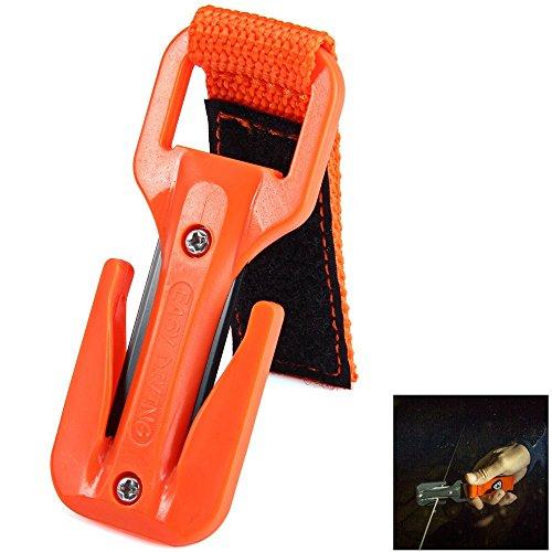 Life-Plus KF-SZ Swift Z Line Cutter Two Sides Scuba Diving Knife Orange