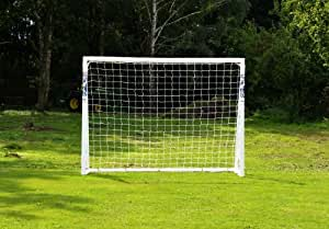 FORZA Soccer Goal 12x6 - The ultimate home soccer goal! Leave up in all weathers & takes 1000s of shots! (01. 6ft x 4ft [Locking])