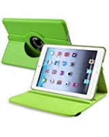 """Bingsale Étui de protection en cuir synthétique rotatif à 360° pour iPad Mini 7,9""""  - vert"""