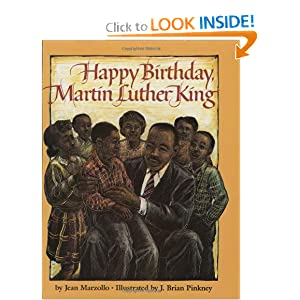 Happy Birthday Martin Luther King (Scholastic Hardcover)