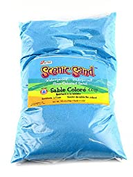 ACTIVA Scenic Sand, 5-Pound, Light Blue