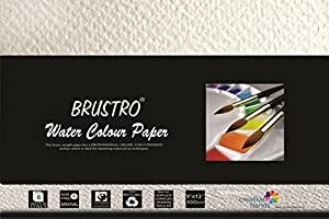 "Brustro Watercolour Papers 300 GSM 9"" X 12"" (Pack of 2)"
