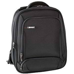 Delsey Login Sac A Dos Extensible 2 Compartiments Protection Pc 15,6'', Bagage - Noir (Black)