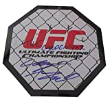"""Clay """"The Carpenter"""" Guida Autographed 8x8 UFC Octagon W/PROOF, Picture of Clay Signing For Us, UFC, MMA, Sherdog, Ultimate Fighting Championship, Strikeforce, Chad Mendes, Anthony Pettis, The Ultimate Fighter, TUF"""