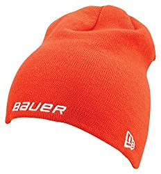 Bauer Men's Knit Toque, Orange, One Size