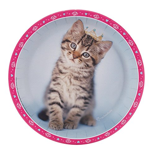 Party Destination 234348 rachaelhale Glamour Cats Dinner Plates