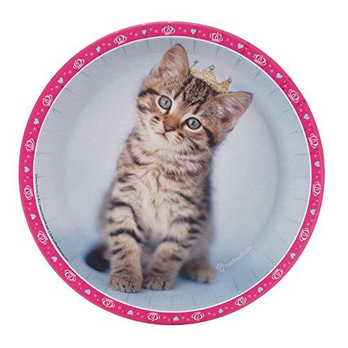 Party Destination 234348 rachaelhale Glamour Cats Dinner Plates