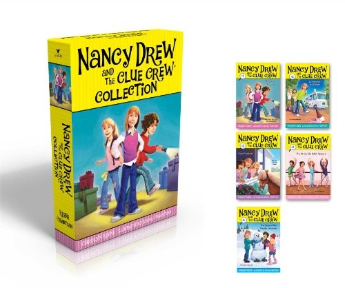 The-Nancy-Drew-and-the-Clue-Crew-Collection-Sleepover-Sleuths-Scream-for-Ice-Cream-Pony-Problems-The-Cinderella-Ballet-Mystery-Case-of-the-Sneaky-Snowman