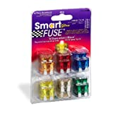 Littelfuse 00940400ZGLO Smart Glow Blade Style Assorted Multi-Pack Fuse - 42 Piece