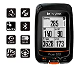 "Bryton Rider 100 GPS Cycling Computer (1.6"" display, 100E - Base Model)"