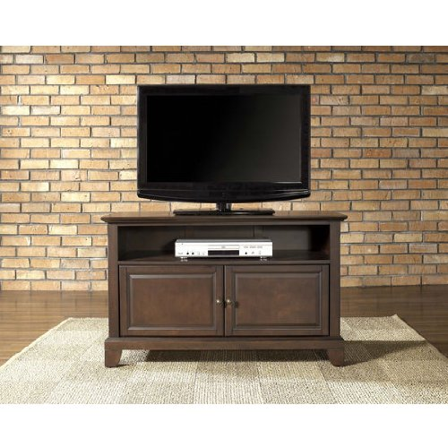 Crosley Furniture Newport 42-Inch Tv Stand, Vintage Mahogany