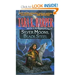 Silver Moons, Black Steel (Tales of the Wolves) by Tara K. Harper