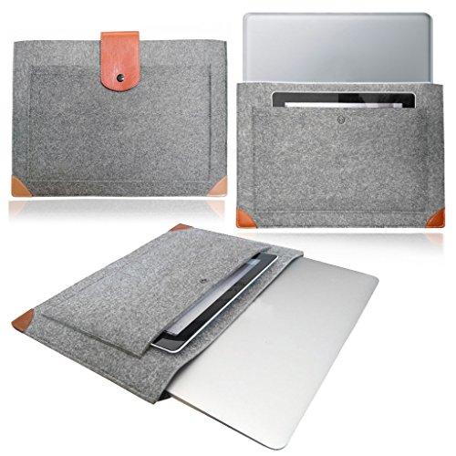 stylebitz-gris-clair-housse-dordinateur-en-feutre-avec-sangles-en-cuir-116-11-etui-pochette-pour-ace