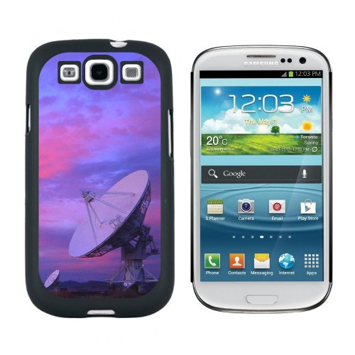Very Large Array Vla Radar Telescope Dishes New Mexico At Sunset - Snap On Hard Protective Case For Samsung Galaxy S3 - Black