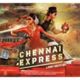 Chennai Express Hindi Audio CD (Stg: Sharukh Khan, Deepika Padukone)(Bollywood Film/Movie/Cinema)